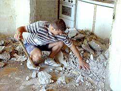 lakásfelújítás bontása